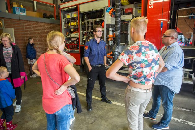 Inloopmiddag bij brandweer Roosendaal