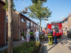 Woningbrand aan Van Boutershemstraat in Rucphen