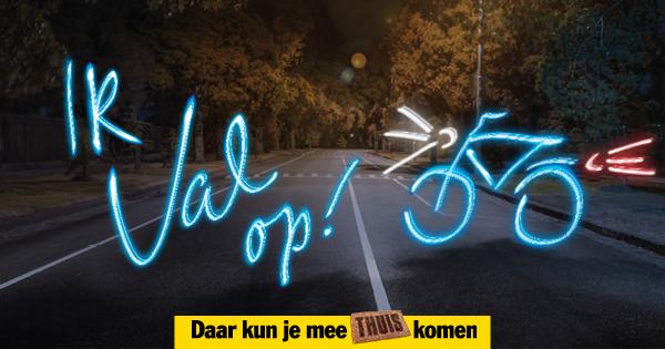 Val op, fiets verlicht! - 112Roosendaal