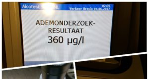 330 blaastesten bij verkeerscontroles in Roosendaal en Rucphen