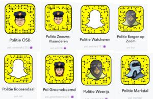 Jeugdagenten gaan Snapchatten in Zeeland-West-Brabant