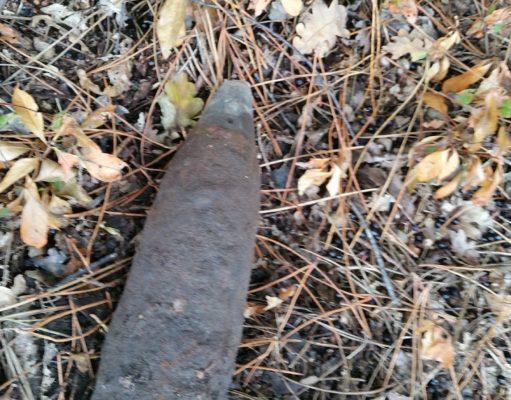 Granaat uit Tweede Wereldoorlog tot ontploffing gebracht in Nispen