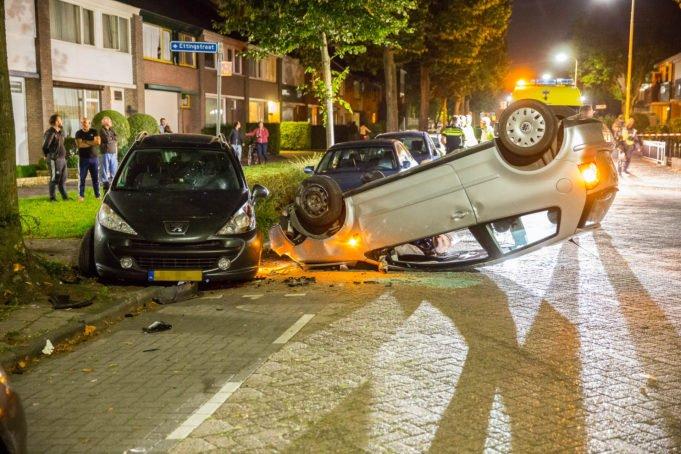 Gewonde bij eenzijdig ongeval in Roosendaal
