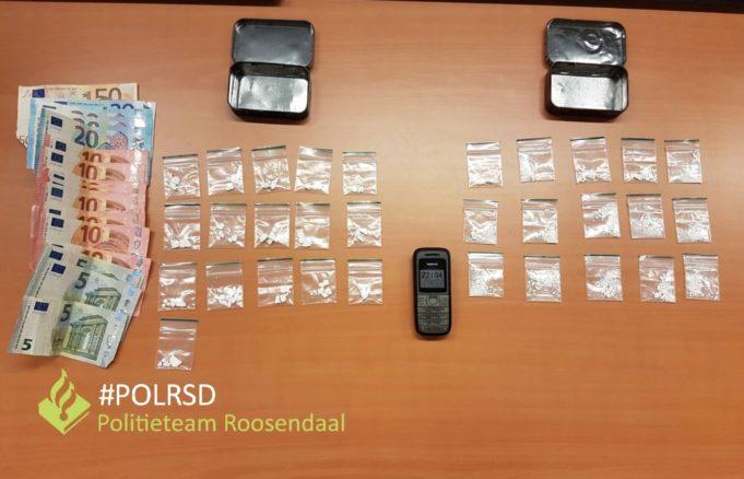 Opnieuw drugsdealer aangehouden in Roosendaal