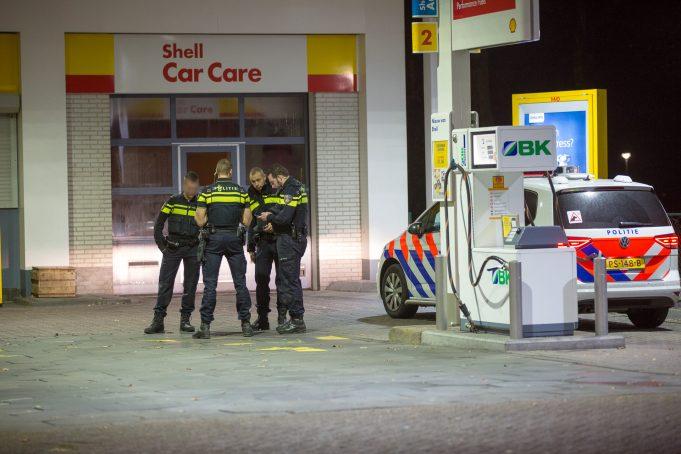 Overvallen op tankstation en McDonald's in Roosendaal