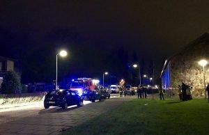 Auto in brand gestoken op de Pootlaan in Roosendaal
