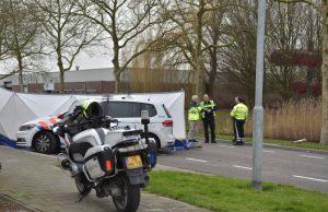 Dodelijk ongeval in Klundert, aanrijding tussen fietser en bestelwagen