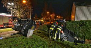 Gewonden na ernstig ongeval tussen twee auto's in Zevenbergen