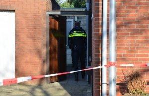 Drugslab in schuur achter woning aan Emmastraat in Sint Willebrord