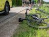 Drie wielrenners gewond bij ongeval in Fijnaart