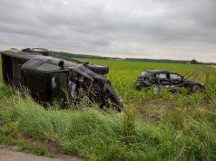 Gewonden bij zwaar ongeval in Wouwse Plantage