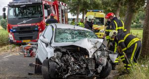 Gewonde bij eenzijdig ongeval in Oud Gastel