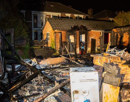Twee verdachten aangehouden voor brandstichting
