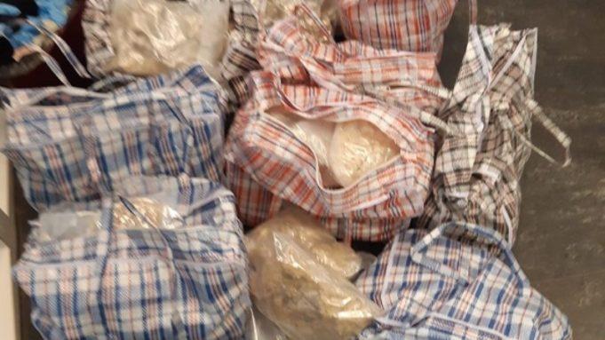 Man aangehouden met 114 kilo MDMA-kristallen
