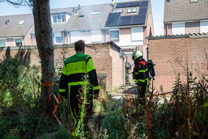 Schuur uitgebrand aan Ambrozijnberg in Roosendaal