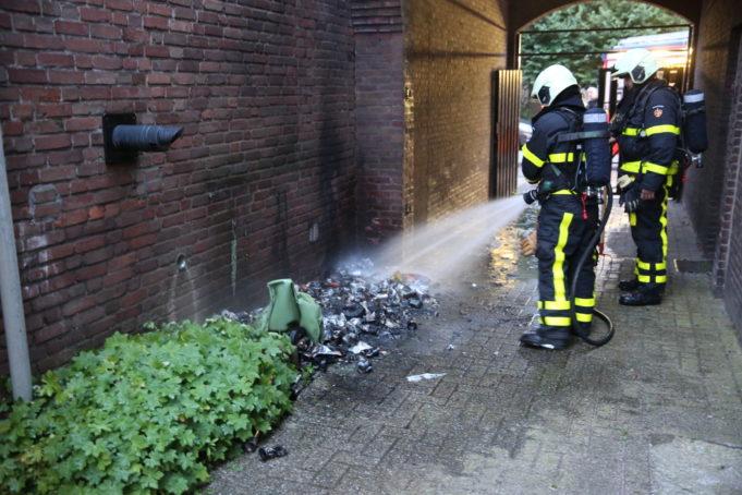 Meerdere brandstichtingen in Roosendaal