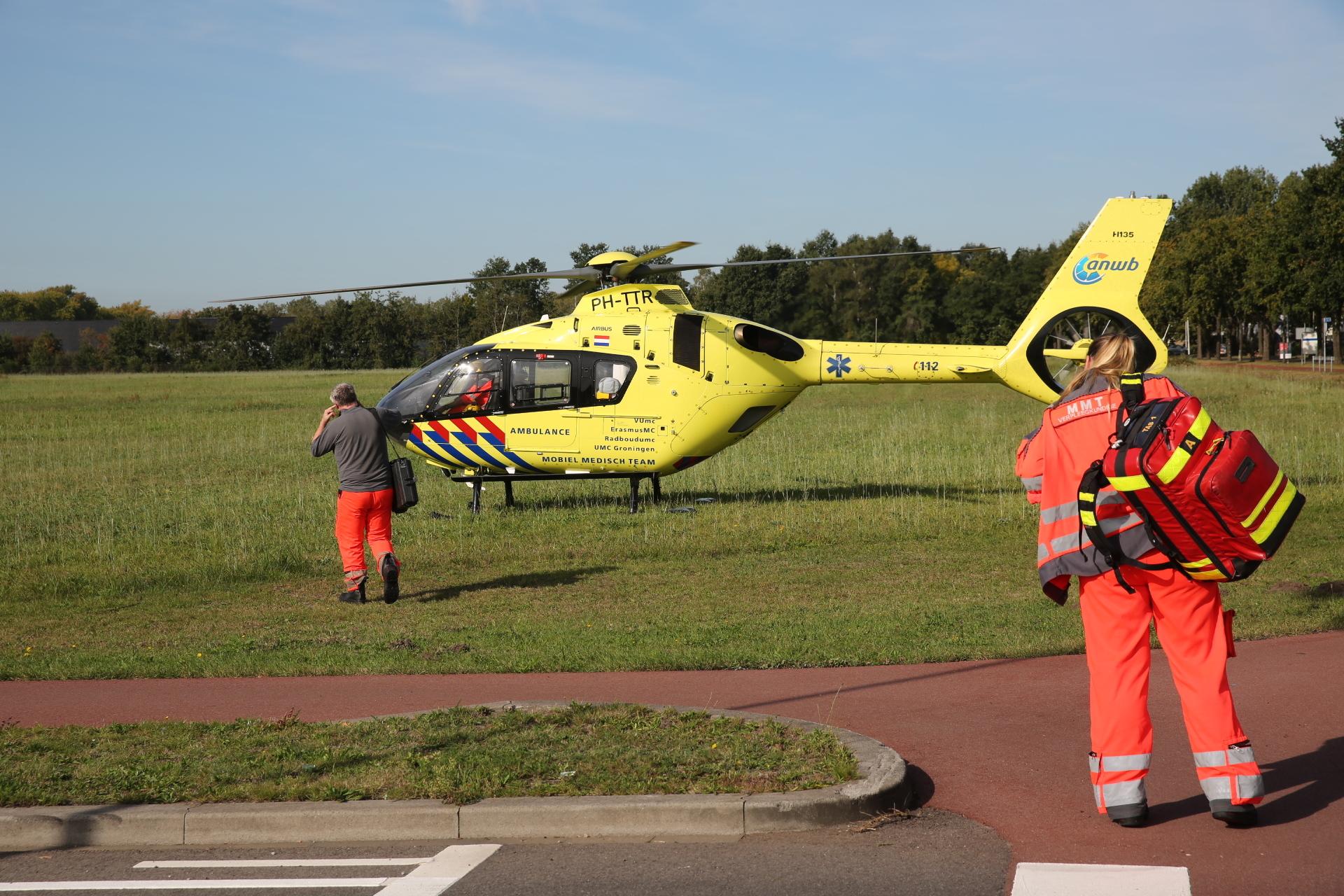 Twee personen gewond bij eenzijdig ongeval in Roosendaal