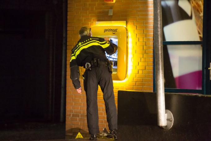 Onderzoek gestart na plofkraak geldautomaat in Bergen op Zoom