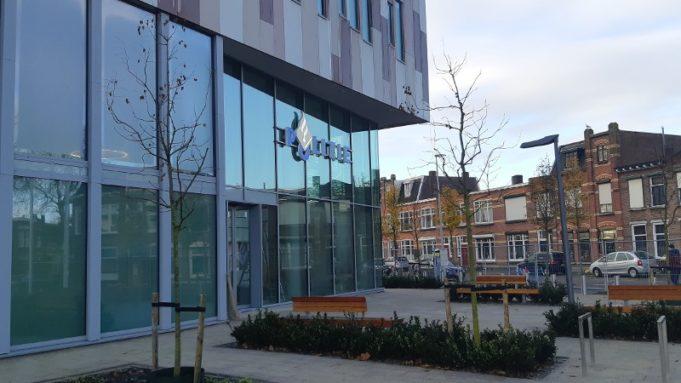 Voorgevel nieuwe politiebureau Bergen op Zoom