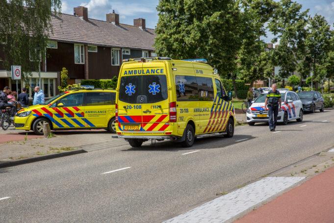 Jongetje gewond na aanrijding op President Kennedylaan in Roosendaal