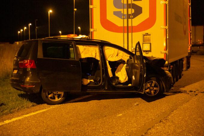 Vijf gewonden na ongeval op A4 bij Ossendrecht