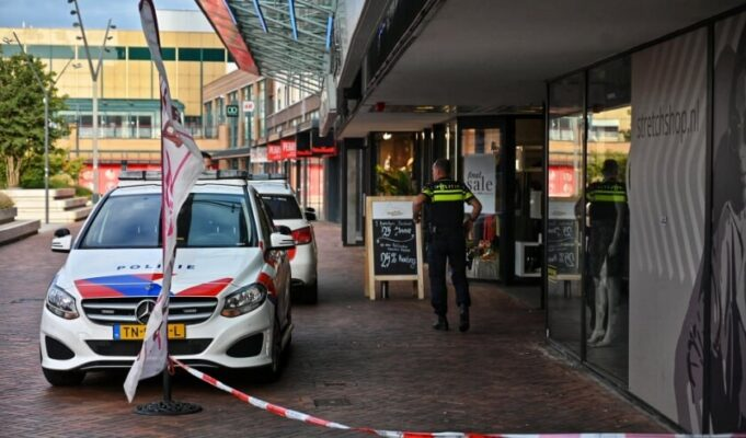 Gewapende overval op Bakker Bart in Roosendaal