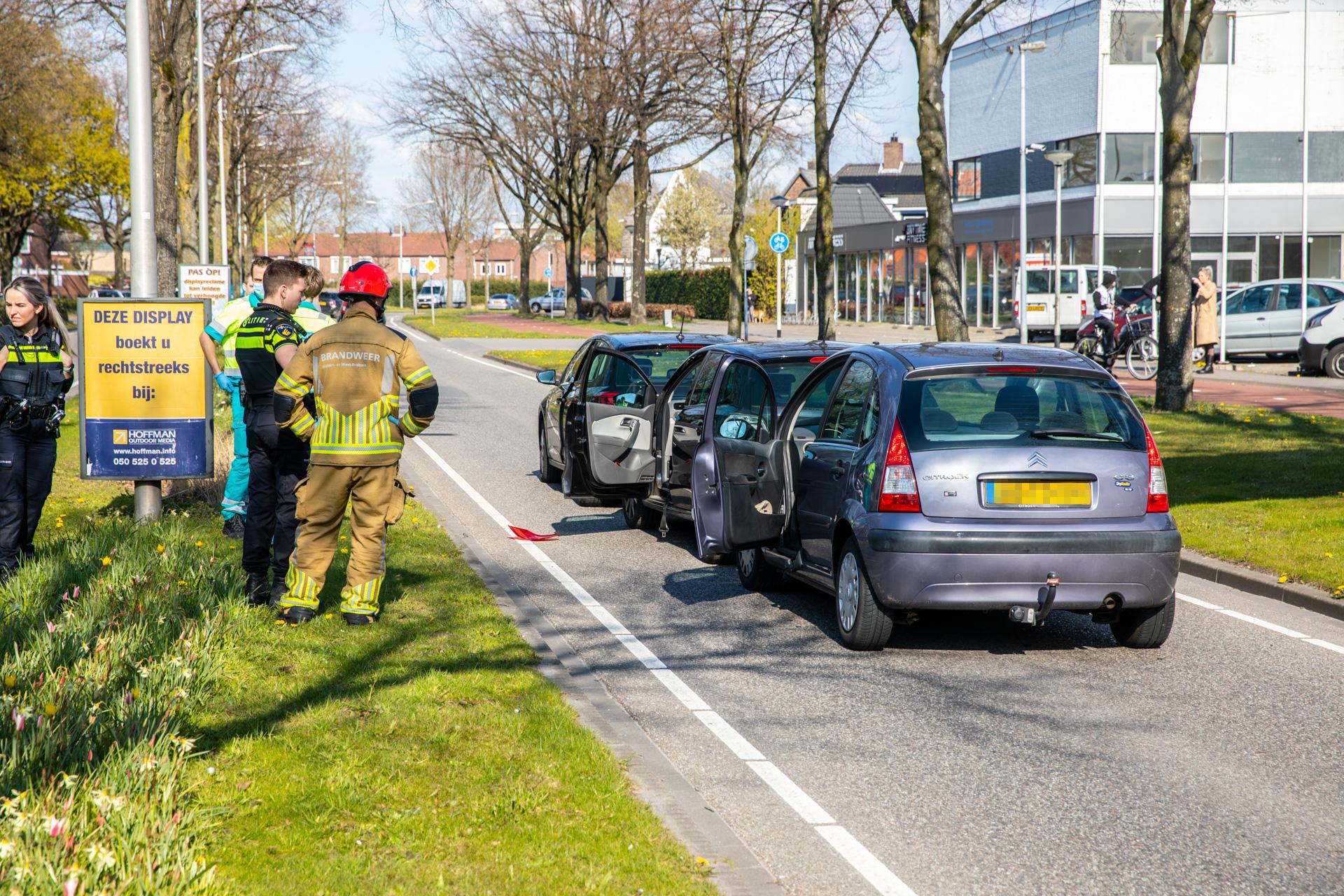 Twee ongevallen in een korte tijd op Van Beethovenlaan