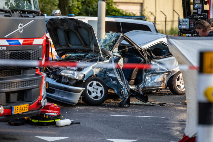 Man (85) overleden bij ernstig ongeval Burgemeester Freijterslaan